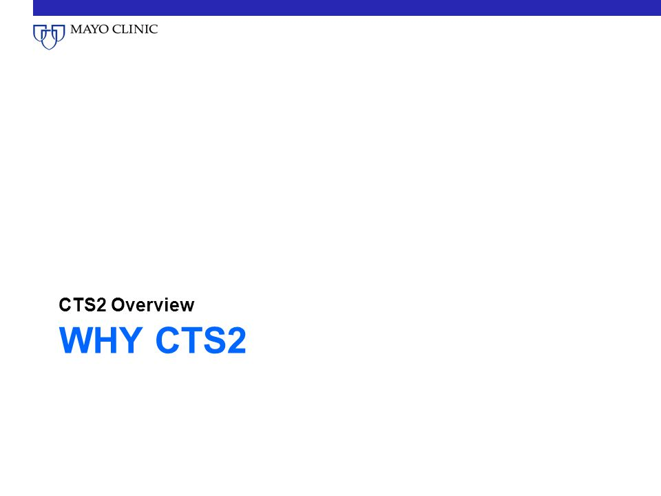 CTS2 Overview Why CTS2