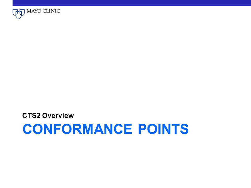 CTS2 Overview Conformance Points
