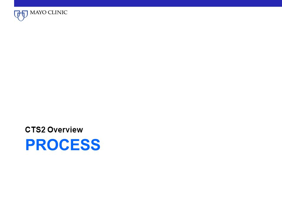CTS2 Overview Process