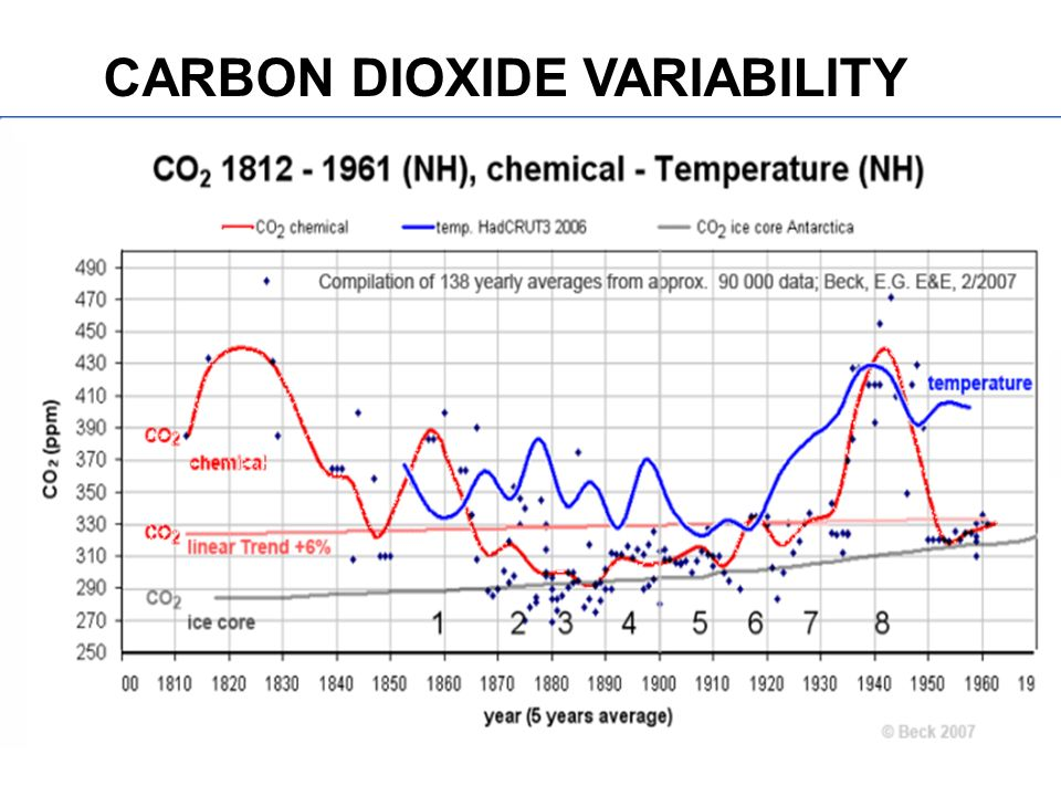 CARBON DIOXIDE VARIABILITY