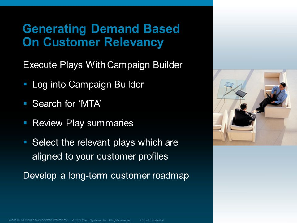 Generating Demand Based On Customer Relevancy