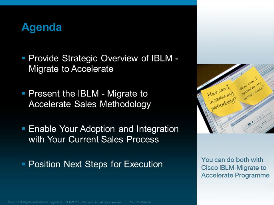 Agenda Provide Strategic Overview of IBLM -Migrate to Accelerate