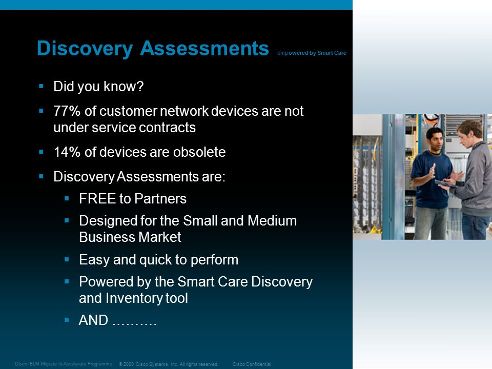 Discovery Assessments empowered by Smart Care