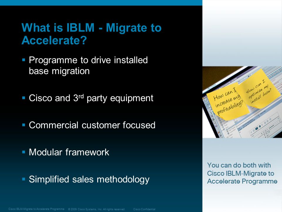 What is IBLM - Migrate to Accelerate