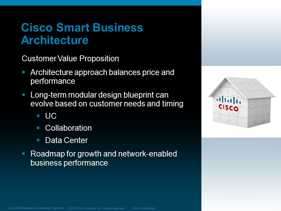 Cisco Smart Business Architecture