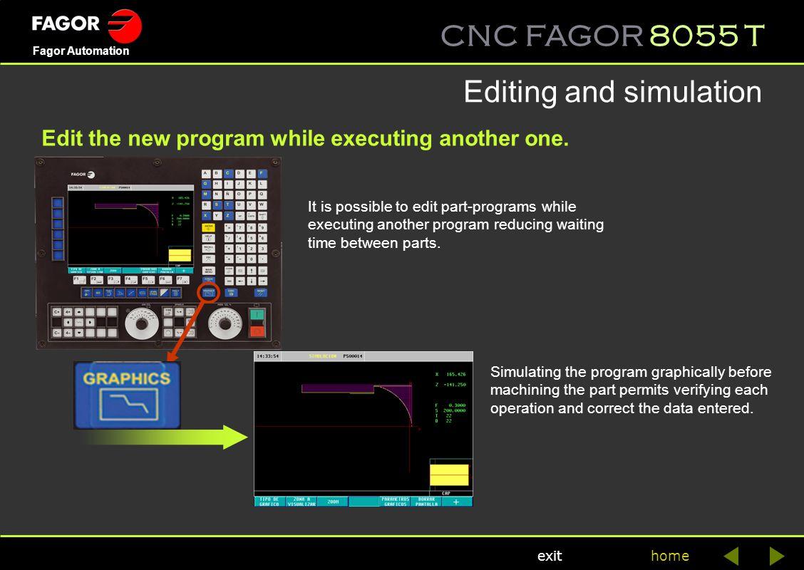 Editing and simulation