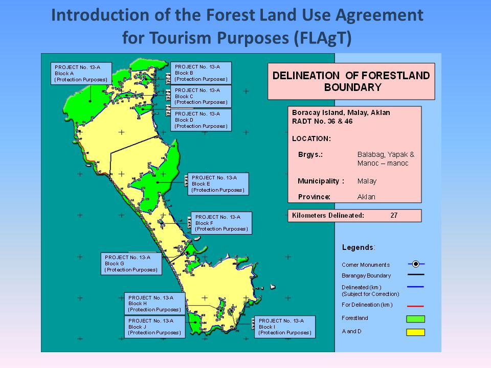 Introduction of the Forest Land Use Agreement