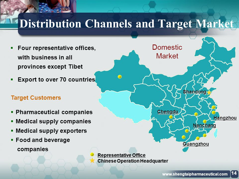 Distribution Channels and Target Market