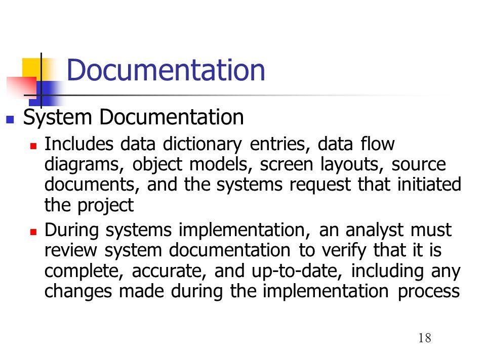 Documentation System Documentation