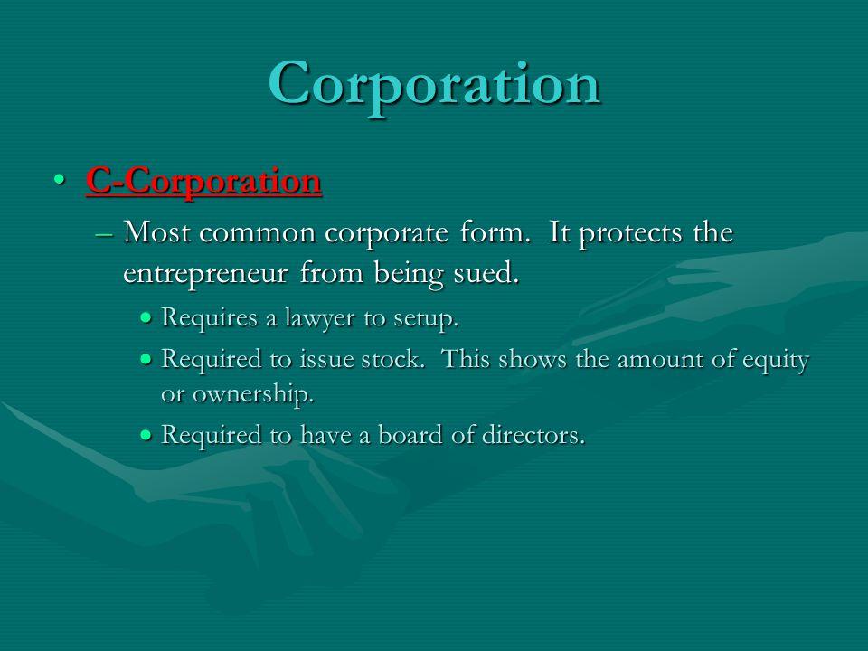 Corporation C-Corporation