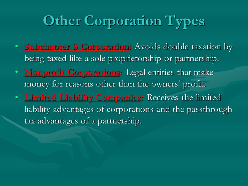 Other Corporation Types