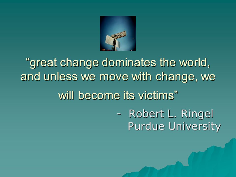 - Robert L. Ringel Purdue University