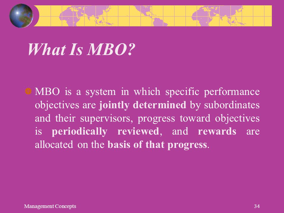What Is MBO