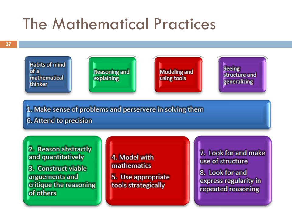 The Mathematical Practices