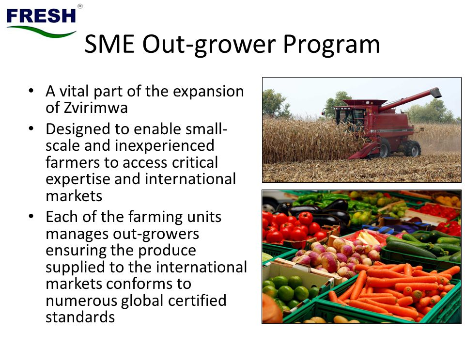 SME Out-grower Program