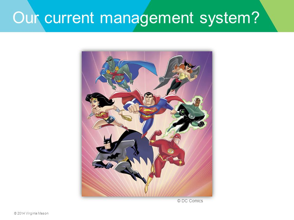 Our current management system