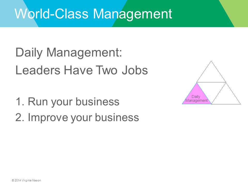 World-Class Management