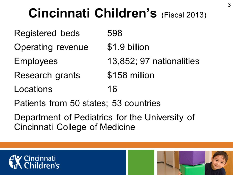 Cincinnati Children's (Fiscal 2013)