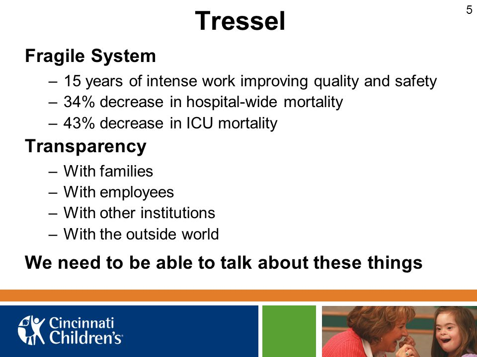 Tressel Fragile System Transparency