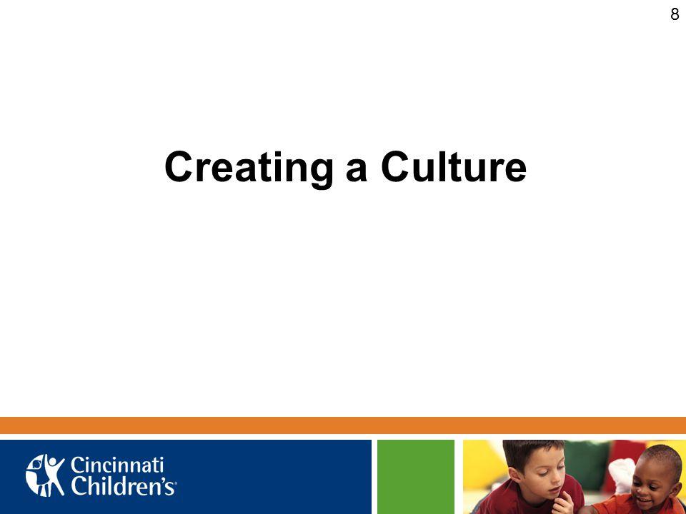 8 Creating a Culture