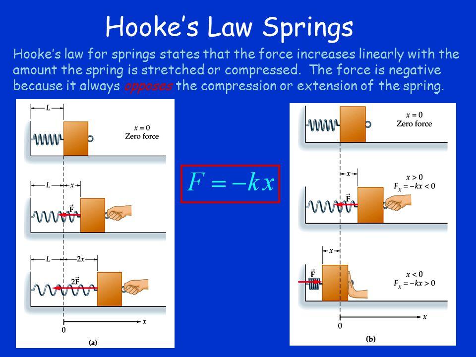 Hooke's Law Springs