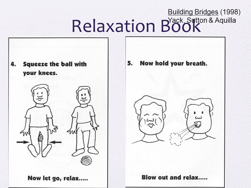 Relaxation Book Building Bridges (1998) Yack, Sutton & Aquilla