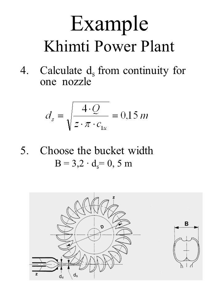 Example Khimti Power Plant