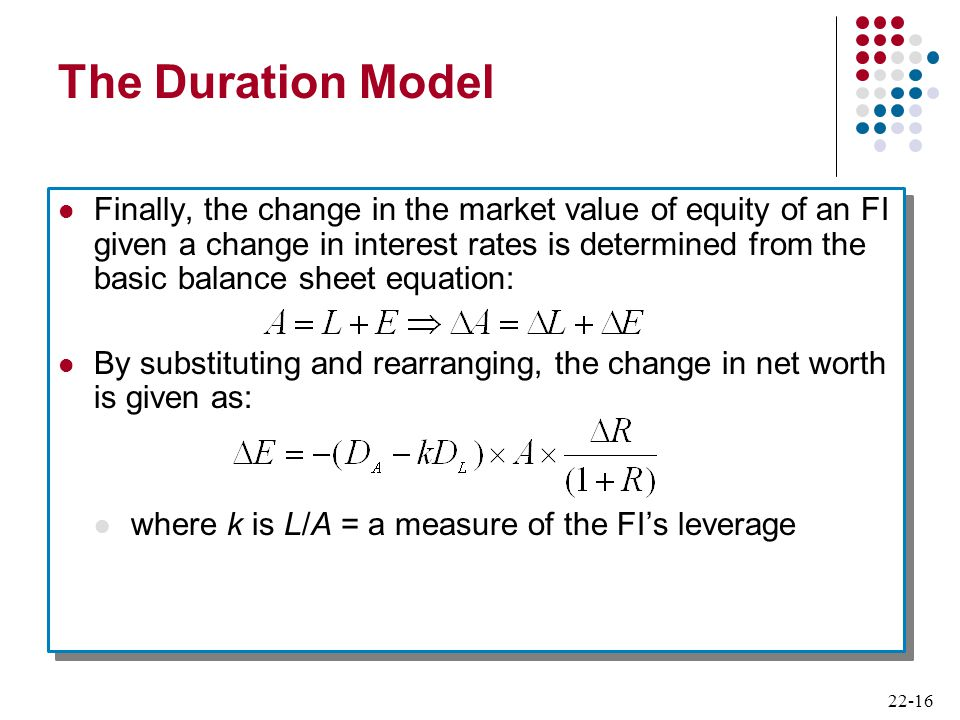 The Duration Model