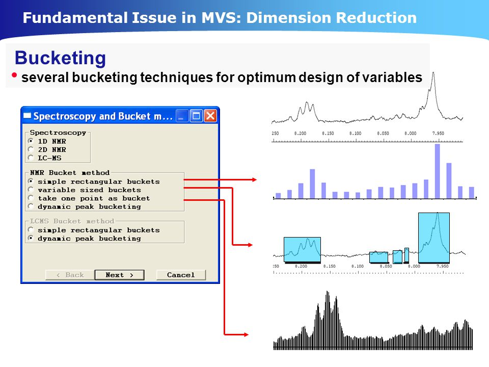 Fundamental Issue in MVS: Dimension Reduction