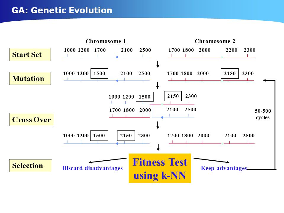 Fitness Test using k-NN