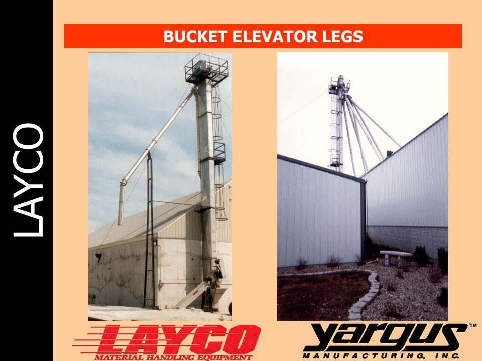 BUCKET ELEVATOR LEGS