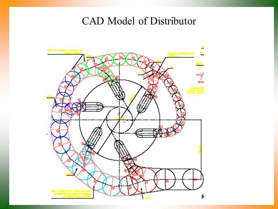 CAD Model of Distributor