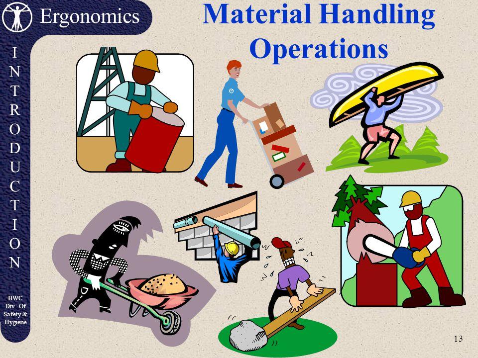 Material Handling Operations