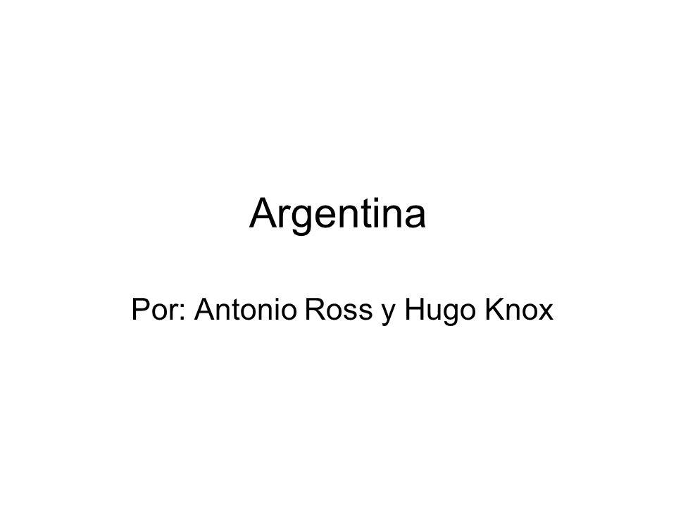 Por: Antonio Ross y Hugo Knox