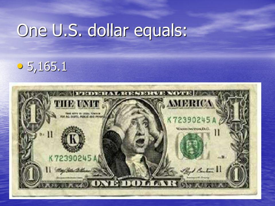 One U.S. dollar equals: 5,165.1