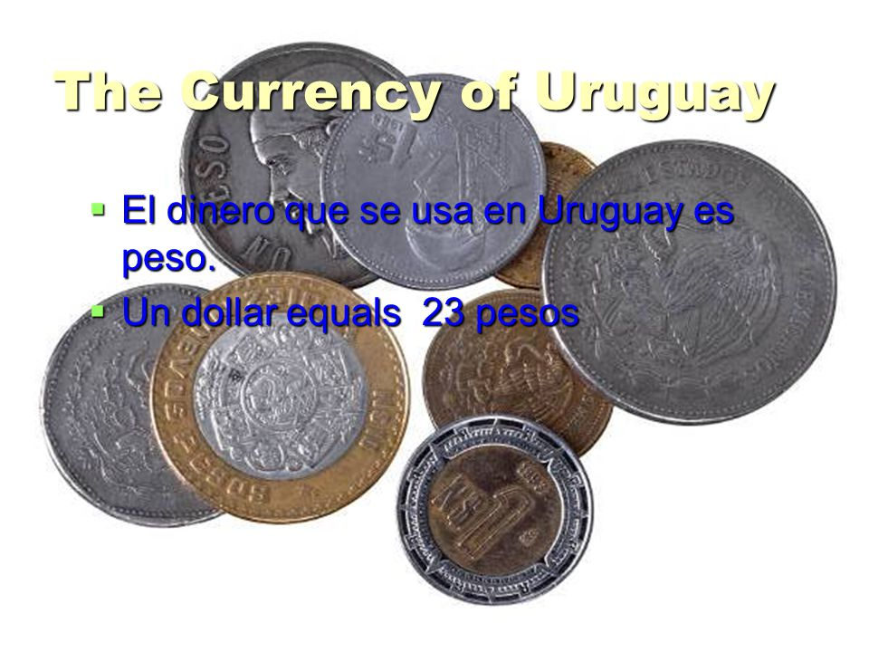 The Currency of Uruguay