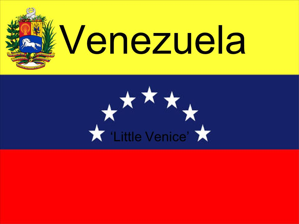 Venezuela 'Little Venice'