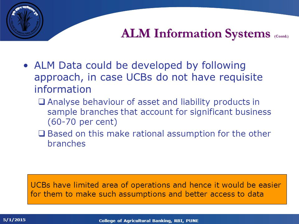 ALM Information Systems (Contd.)