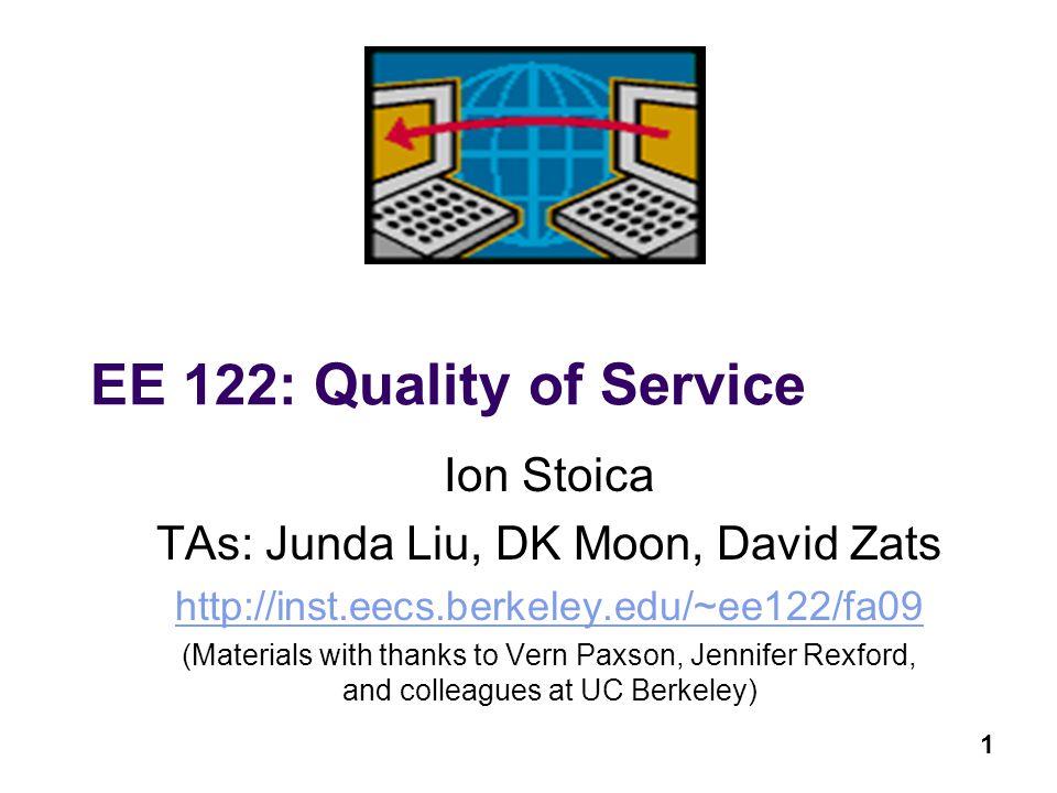 TAs: Junda Liu, DK Moon, David Zats