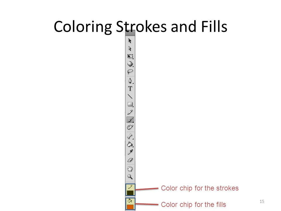 Coloring Strokes and Fills