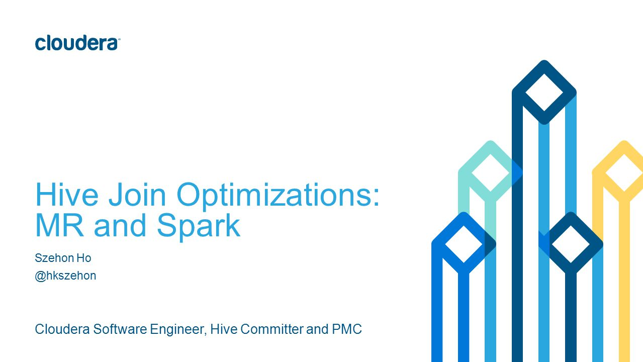 Hive Join Optimizations: MR and Spark