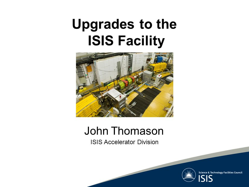 ISIS Accelerator Division