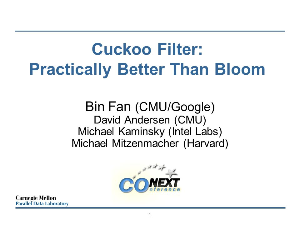Cuckoo Filter: Practically Better Than Bloom