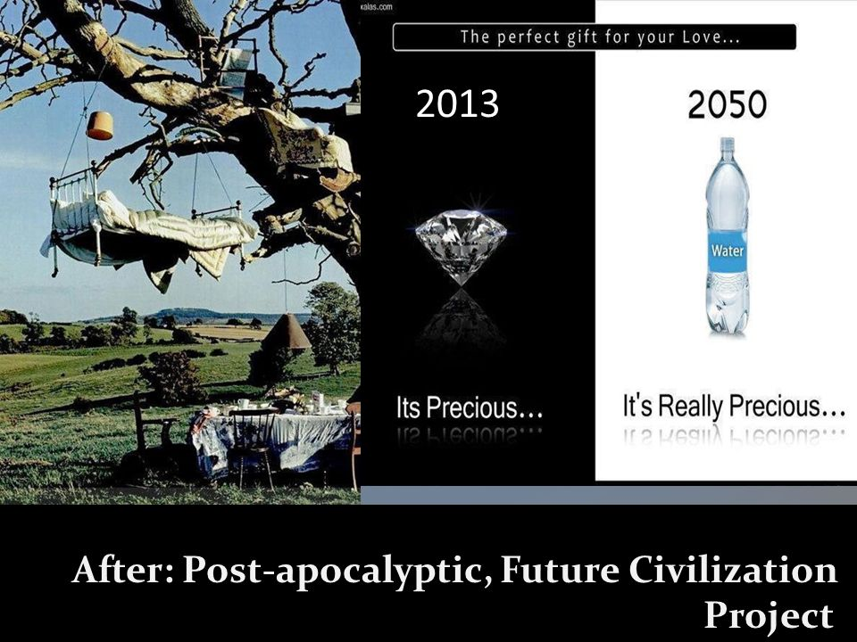 2013 After: Post-apocalyptic, Future Civilization Project