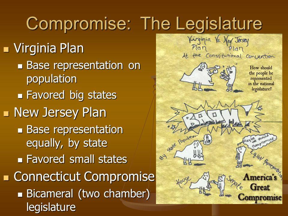 Compromise: The Legislature