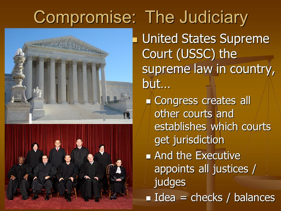 Compromise: The Judiciary