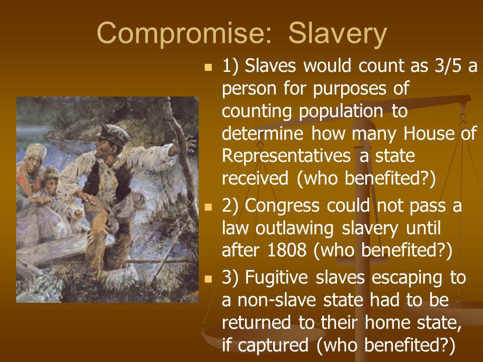 Compromise: Slavery