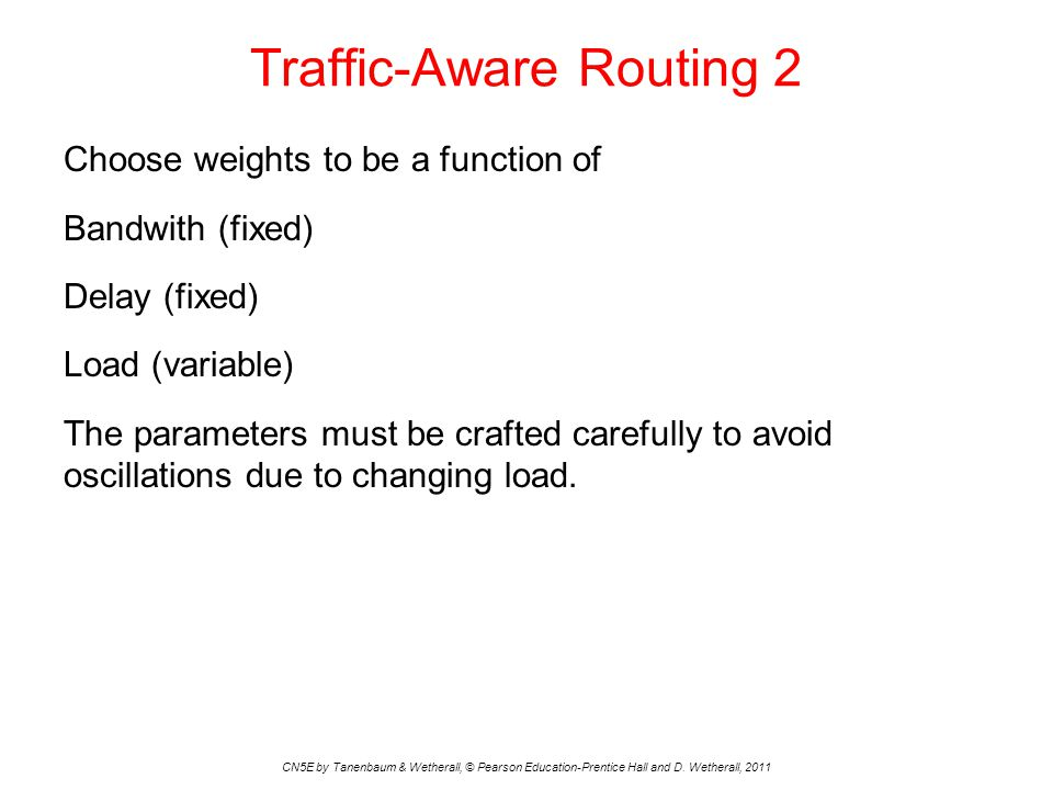 Traffic-Aware Routing 2