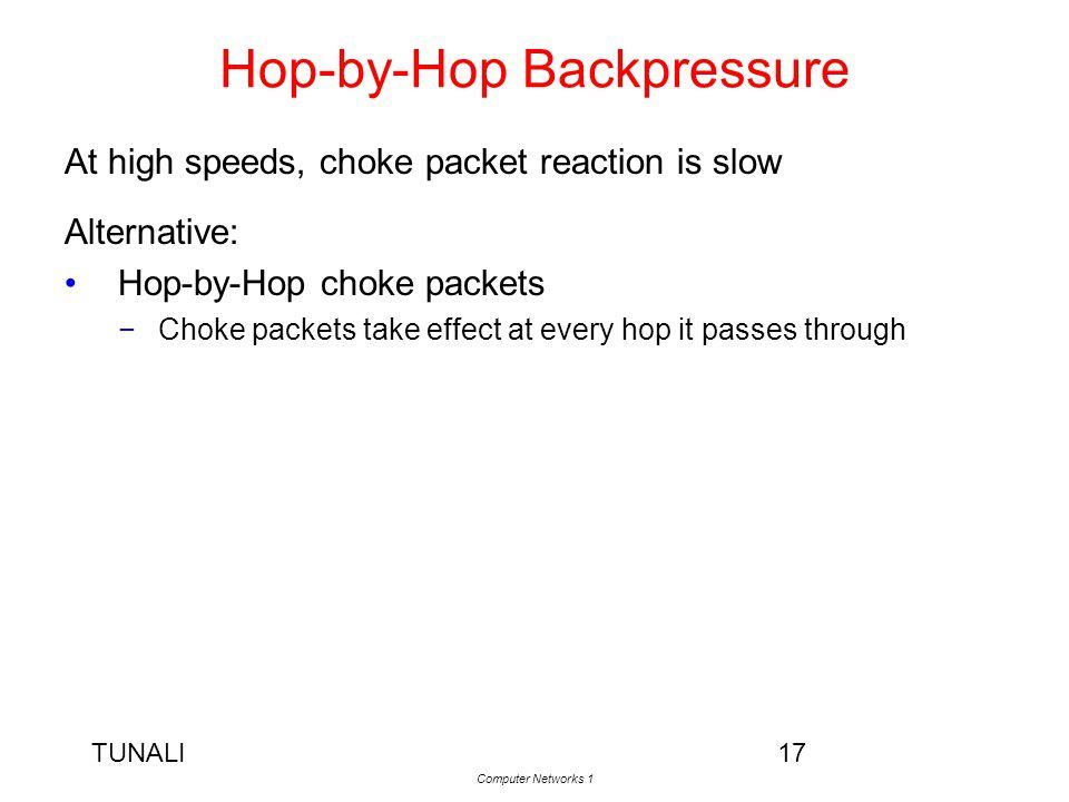 Hop-by-Hop Backpressure