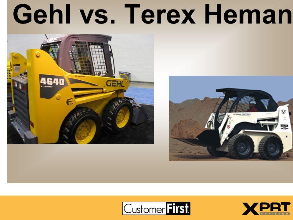 Gehl vs. Terex Heman